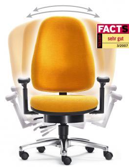 LADY SITWELL der ergonomische Frauen-Stuhl Nr. 1